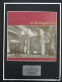 U2 - Framed LP Cover - UNFORGETTABLE FIRE